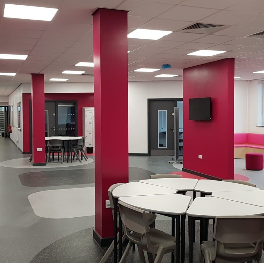 Suspended Ceiling Acoustic Installation For Offices
