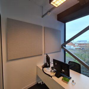 autex quietspace installation for schaeffler in brimingham