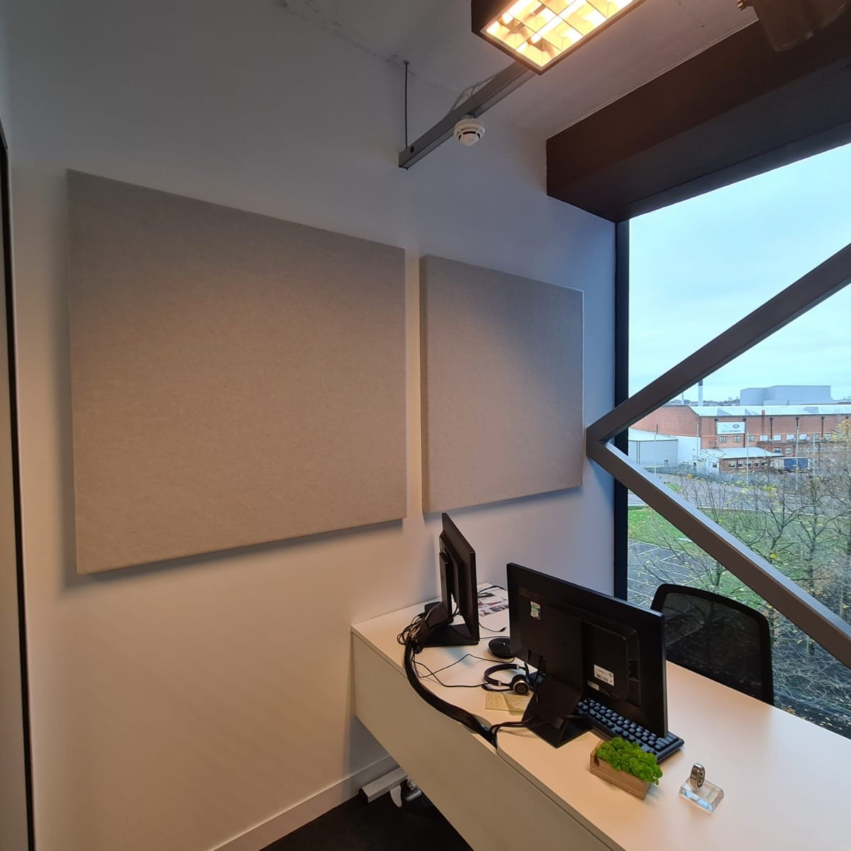 Autex Quietspace And Ecophon Solo Installation At Schaeffler