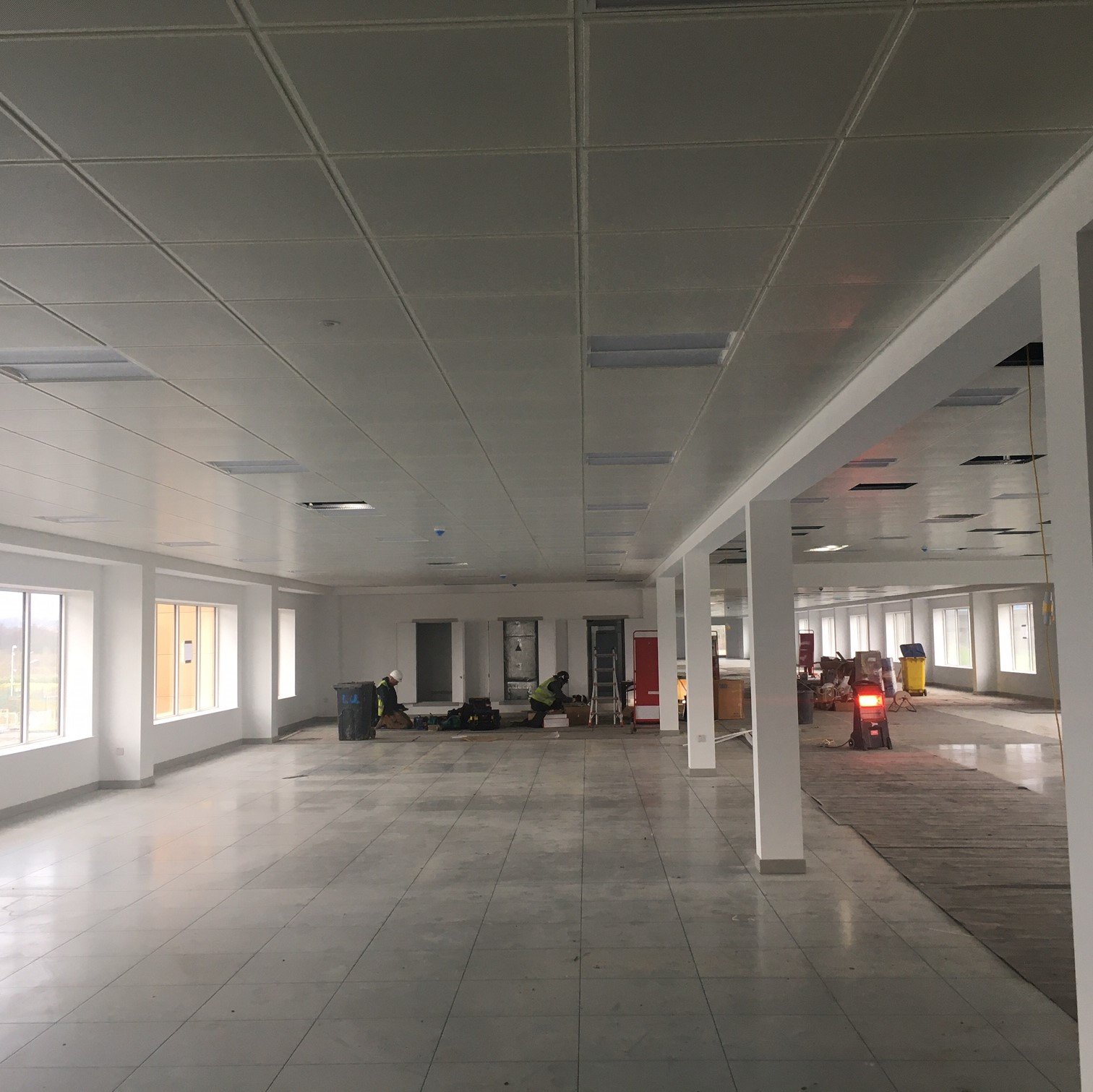 Armstrong Zentia Ceiling Installation